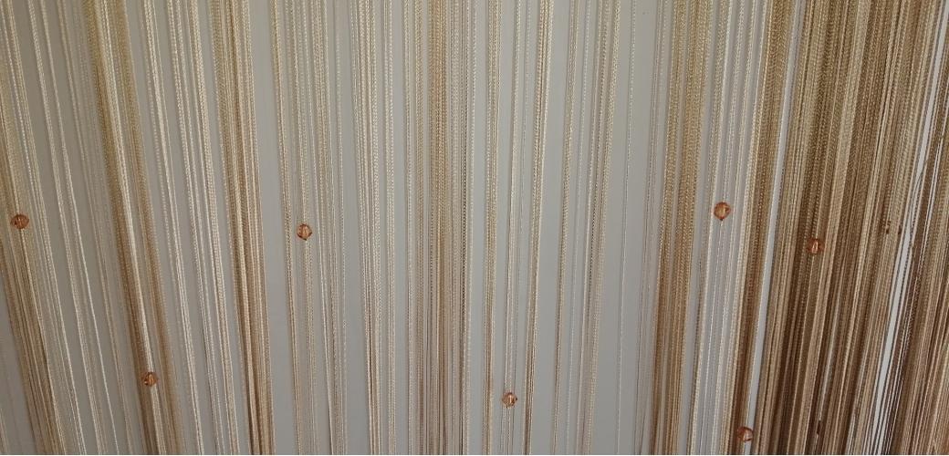 Нитяные шторы Кисея — шторы со свежестью дождя
