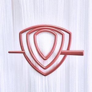 Улитка-треугольник -11 заколка для нитяных штор
