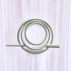 Улитка-круг -09 заколка для нитяных штор