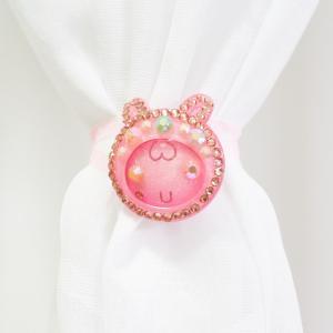 Зая - розовый подхват-магнит (2шт)